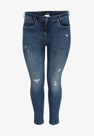Slim fit jeans - jeansblau