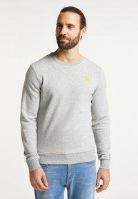 Schmuddelwedda - Sweatshirt - hellgrau melange - 0