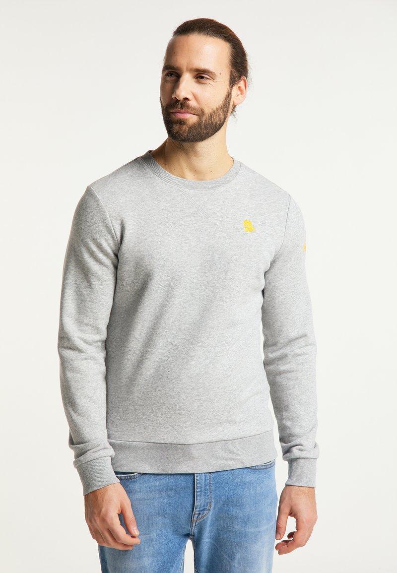 Schmuddelwedda - Sweatshirt - hellgrau melange
