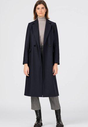 IN MIDILÄNGE - Classic coat - dunkelblau