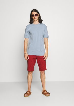 CORE 3 PACK - Basic T-shirt - sandstorm/white/ashley blue