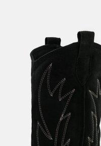 L37 - WANNA KNOW U - Cowboy-/Bikerlaarzen - black - 5