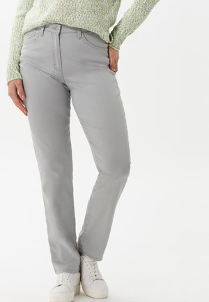 STYLE CORRY - Jean droit - silver