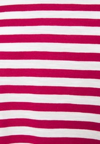 Esprit - SLUB - Print T-shirt - dark pink - 2