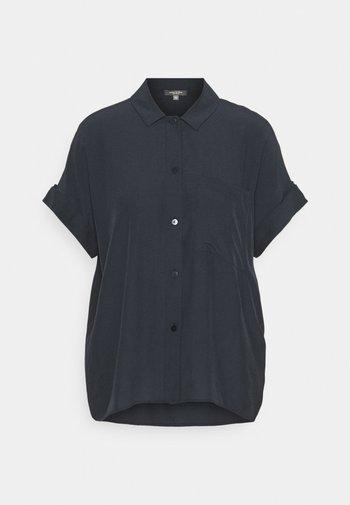 EASY FIT - Button-down blouse - sky captain blue