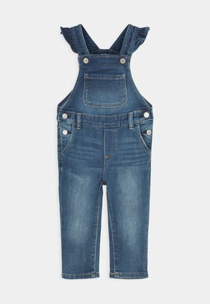 TODDLER GIRL OVERALL - Dungarees - medium wash