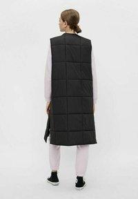 Pieces - Waistcoat - black - 2