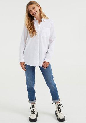 MET BORSTZAKJE - Košile - white