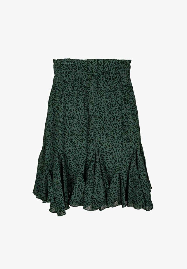 A-linjekjol - green