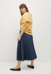 Violeta by Mango - PLISA - A-line skirt - azul - 3