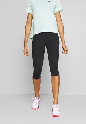 CAPRI - 3/4 sports trousers - performance black