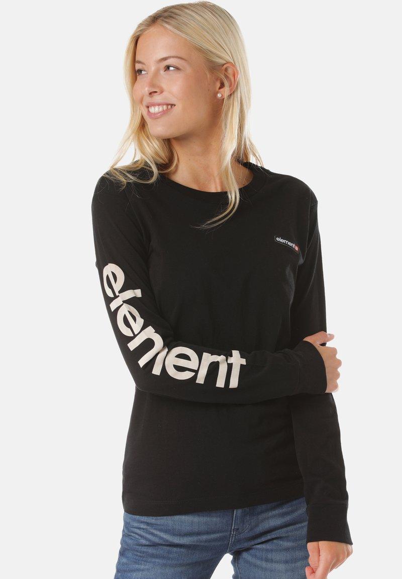 Element - Long sleeved top - black