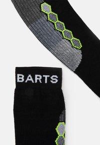Barts - ADVANCED SKI TWO UNISEX - Sports socks - black - 1