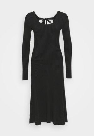 HAZEL DRESS - Denní šaty - black