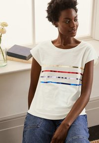 Boden - ROBYN  - Print T-shirt - regenbogen-folienstreifen - 1