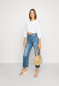 Levi's® - RIBCAGE STRAIGHT ANKLE - Jeansy Straight Leg - at the ready