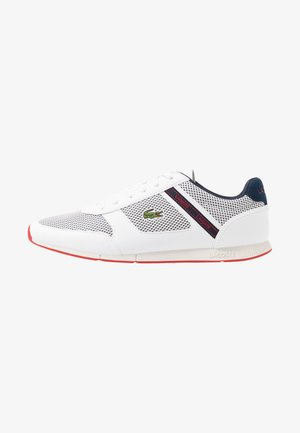 MENERVA SPORT - Zapatillas - white/navy