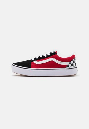 COMFYCUSH OLD SKOOL - Tenisky - black/red