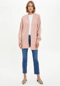 DeFacto - Cardigan - pink - 1