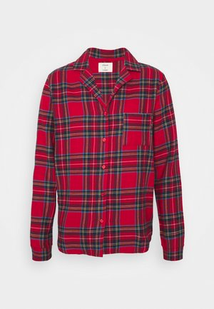 ODILE CHEMISE  - Pyjama top - rouge