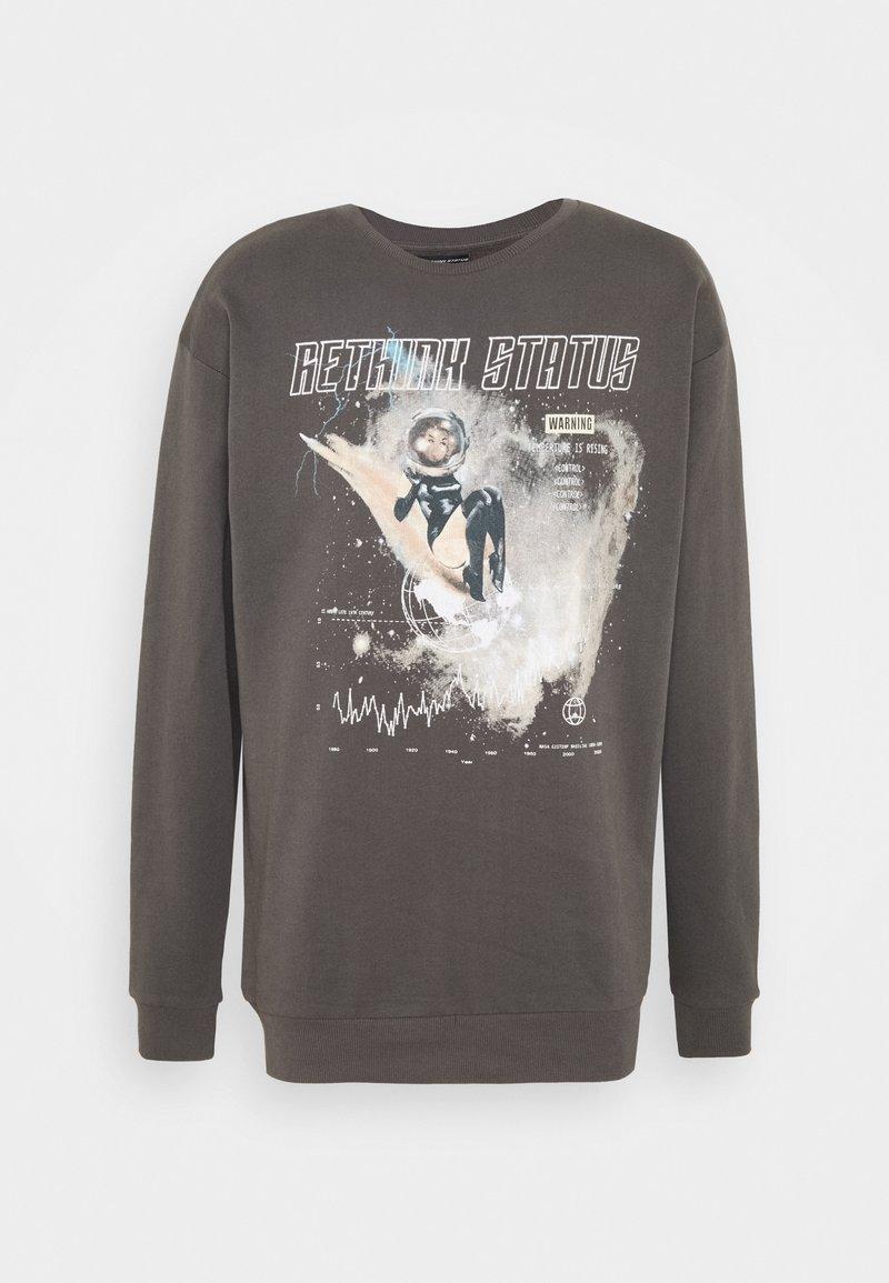 RETHINK Status - CREWNECK UNISEX - Sweatshirts - iron