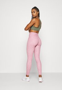 Nike Performance - ONE LUXE - Tights - desert berry - 2