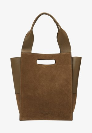 Tote bag - umber green