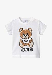 MOSCHINO - MAXI BABY UNISEX - T-Shirt print - cloud - 3