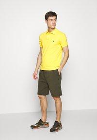Polo Ralph Lauren - SHORT SLEEVE KNIT - Polo - yellow - 1