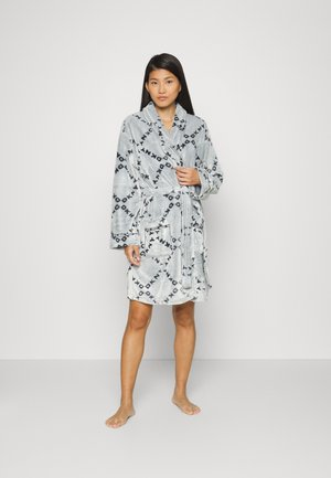 FOLDED ROBE - Dressing gown - grey