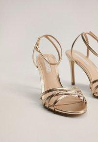 Mango - ORCA - High heeled sandals - gold - 3