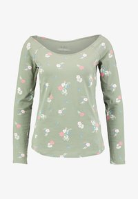 edc by Esprit - CORE ADDITIONAL - Long sleeved top - khaki/green - 3