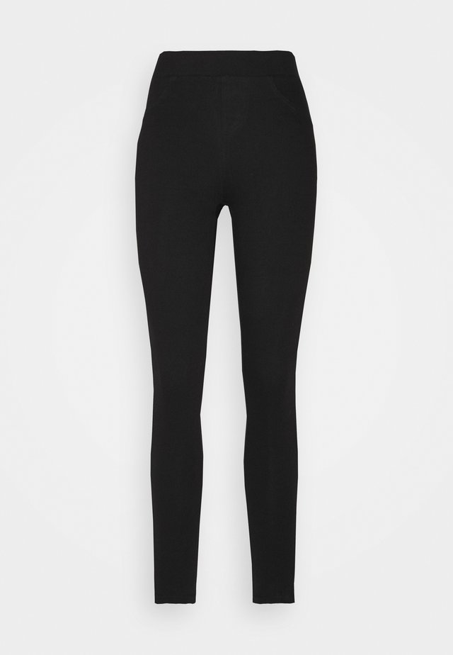 JEGGING - Farkkuleggingsit - black