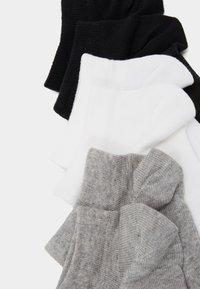 Reebok - ACT CORE INSIDE SOCK 6 PACK - Calcetines de deporte - medium grey heather/white/black - 1