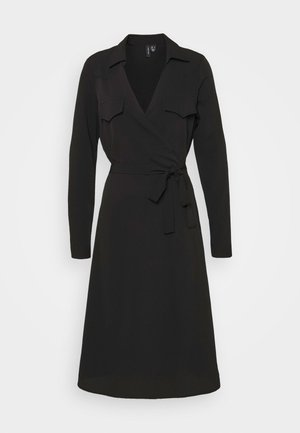 VMLOLENA DRESS - Korte jurk - black
