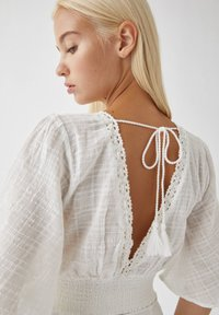 PULL&BEAR - Blouse - white - 2