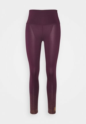 FOIL FADE PRINT LEGGING - Tights - purple