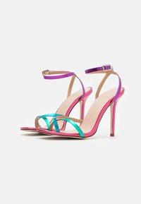 BEBO - TREVIA - Sandaler med høye hæler - pink/multicolor - 2