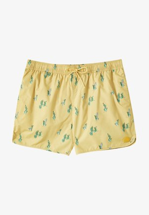CACTUS - Swimming trunks - yellow