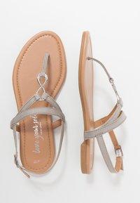 New Look - HOOPER - Flip Flops - mid grey - 3