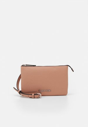 CROSSBODY DOUBLE - Bandolera - pink