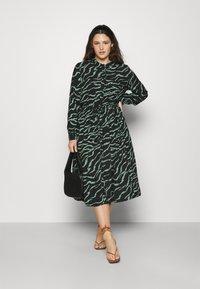 Kaffe Curve - ZALA DRESS - Day dress - black - 1