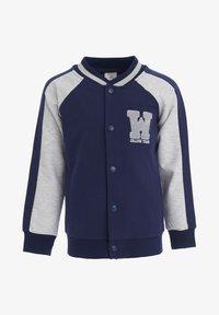 DeFacto - Zip-up sweatshirt - navy - 0