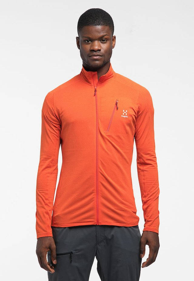 L.I.M MID JACKET  - Fleece jacket - habanero