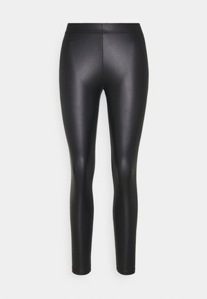 PCNEW SHINY - Leggings - Trousers - black