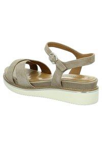 Tamaris - Sandals - taupe - 3