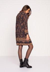 Ivko - Day dress - brown red - 2