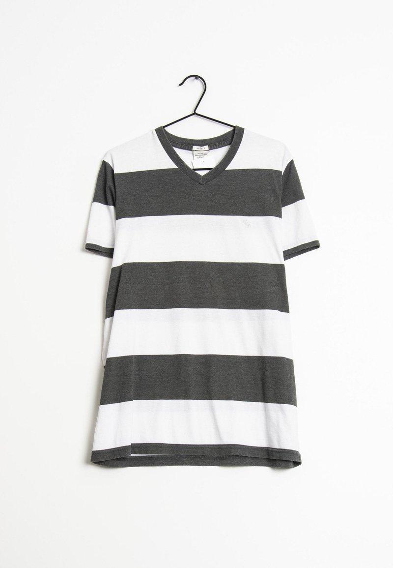 Abercrombie & Fitch - T-shirt imprimé - white