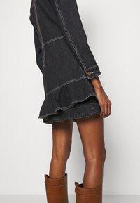 See by Chloé - Denimové šaty - black - 6