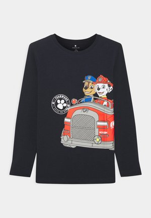 NMMPAWPATROL MYLES  - Long sleeved top - dark sapphire